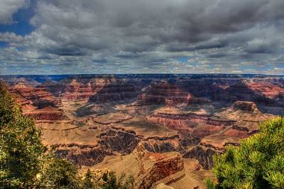 Photograph - Clouds Over The Canyon by Judith Szantyr