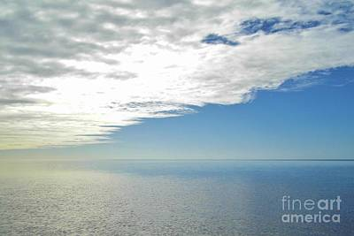 Photograph - Clouds Over The Gulf by D Hackett