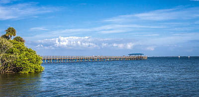 Photograph - Clouds Over The Pier by Jane Luxton