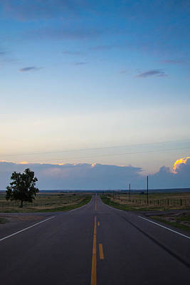 Photograph - Clouds Over The Road by Nathan Hillis