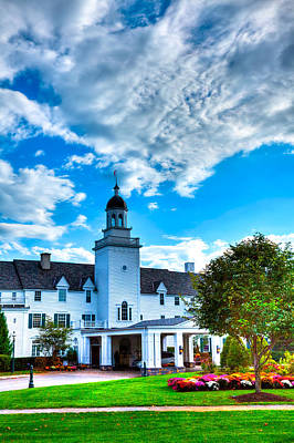 Photograph - Clouds Over The Sagamore Resort by David Patterson