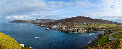 County Mayo Photograph - Clouds Over The Sea, Atlantic Drive by Panoramic Images