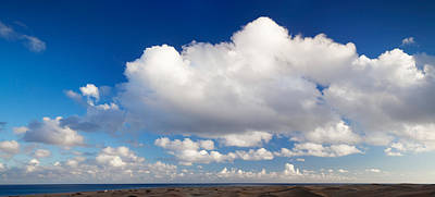 Atlantic Islands Photograph - Clouds Over The Sea, Maspalomas, Grand by Panoramic Images