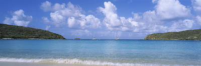 Clouds Over The Sea, Salt Pond Bay Art Print by Panoramic Images