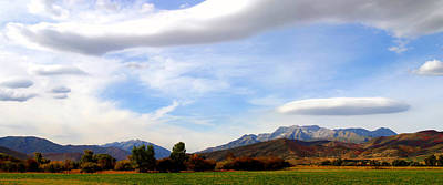 Photograph - Clouds Over Timp by TL  Mair