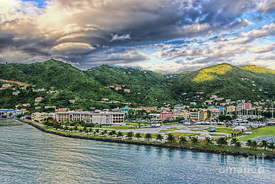 Photograph - Clouds Over Tortola by Olga Hamilton