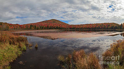Wheeler Photograph - Clouds Over Wheeler Pond by Charles Kozierok