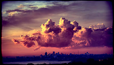 Clouds Rolling Art Print by Andrei SKY