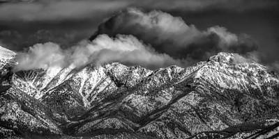Photograph - Clouds Rolling In by Joan Herwig