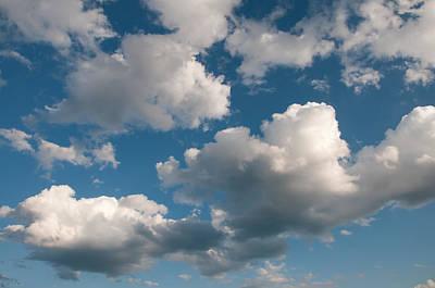 Clouds Swimming In The Blue Sky Original