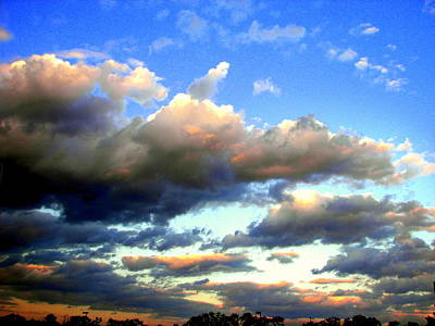 Photograph - Clouds Tell The Story by Pamela Hyde Wilson