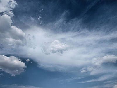 Photograph - Clouds...altitude by Tom Druin