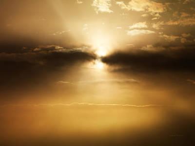 Photograph - Cloudscape by Leland D Howard
