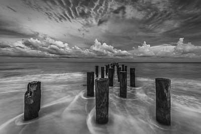 Naples Beach Wall Art - Photograph - Cloudscape by Mike Lang