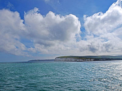 Photograph - Cloudscape Over The White Cliffs Of Dover by Gill Billington