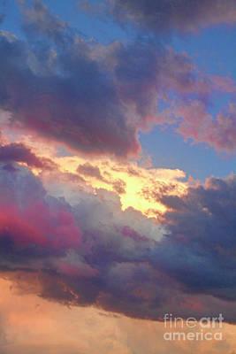 Sunset Photograph - Cloudscape Portrait 52 by James BO  Insogna