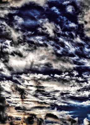 Photograph - Cloudstract by David Stine