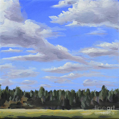 Painting - Cloudtrail by Ric Nagualero