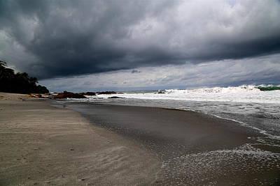 Cloudy Beach Day Original