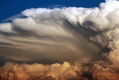 Cloudy Print by Cedric Darrigrand