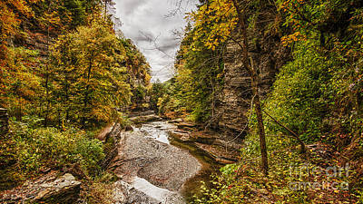 Photograph - Cloudy Day At Treman by Brad Marzolf Photography