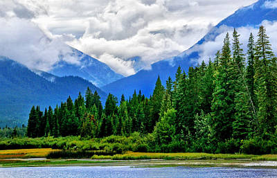 Photograph - Cloudy Day At Vermilion Lake by Carolyn Derstine