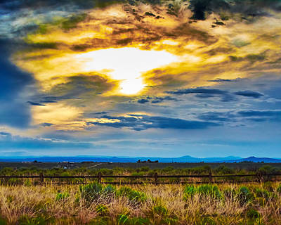 Charles-muhle Royalty-Free and Rights-Managed Images - Cloudy day by Charles Muhle