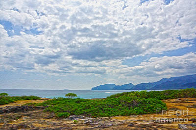 Cloudy Day In Oahu Art Print by Nur Roy