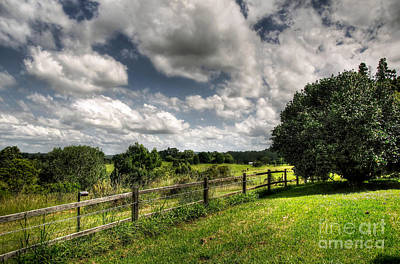 Photograph - Cloudy Day In The Country by Kaye Menner