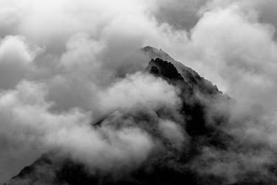 Cloudy Peak Art Print by Yuri Fineart