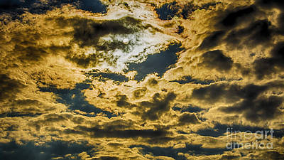 Photograph - Cloudy Sky Over Calvary Cemetery by Mark Thomas