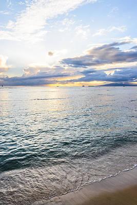 Photograph - Cloudy Sunset by Jason Chu
