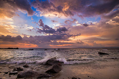 Photograph - Cloudy Sunset by Shanti Gilbert