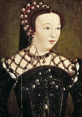Catherine De Medicis Photograph - Clouet, Fran�ois 1505-1573. Portrait by Everett