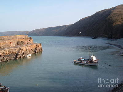 Photograph - Clovelly Harbour by Richard Brookes