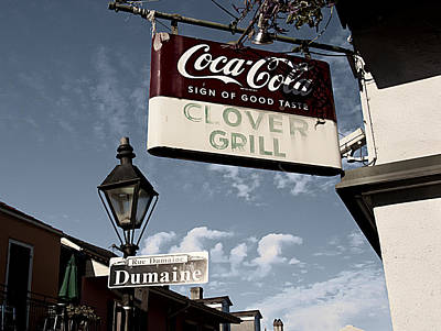Photograph - Clover Grill by Barry Cole