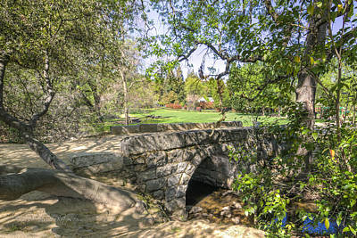 Clover Valley Park Bridge Art Print