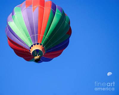 Photograph - Clovis Hot Air Balloon Fest 8 by Terry Garvin