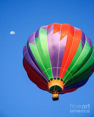 Photograph - Clovis Hot Air Balloon Fest 9 by Terry Garvin