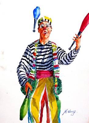 Clown #2 Original