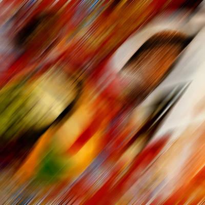 Digital Art - Clown by Alessandro Della Pietra