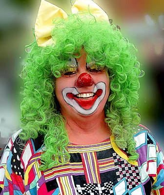 Photograph - Clown II by Patrick Boening