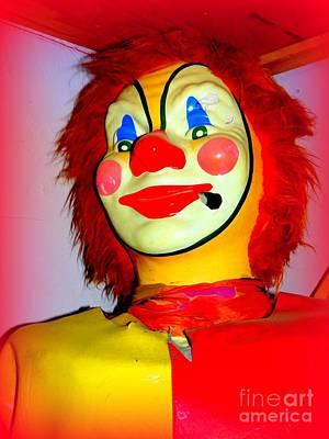 Photograph - Clown In Corner by Ed Weidman