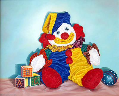 Clown Art Print