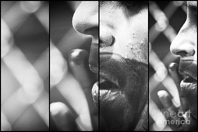 Photograph - Clown Makeup Panels by John Rizzuto