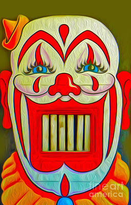 Painting - Clown Teeth by Gregory Dyer