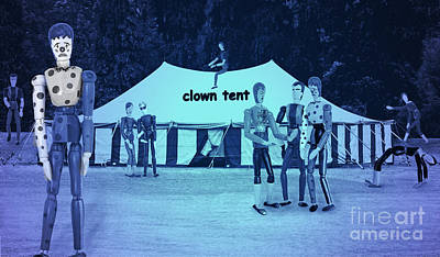 Digital Art - Clown Tent by Nareeta Martin