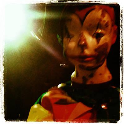 Photograph - Clown by Tyson Schroeder