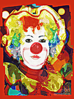 Digital Art - Clowning Around by Mindy Bench