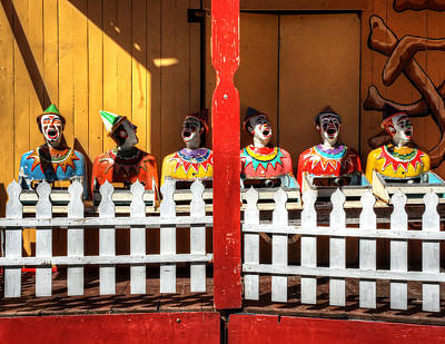 Photograph - Clowning Around by Wayne Sherriff